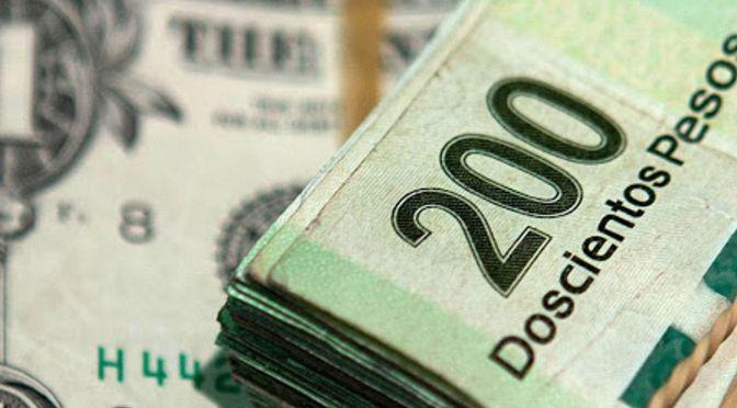 El peso inicia la sesión con una depreciación de 0.10% o 1.9 centavos