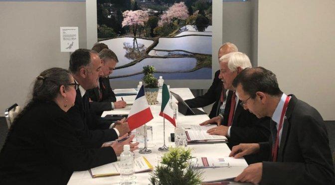 Fortalecen México y Francia vínculos de cooperación técnica