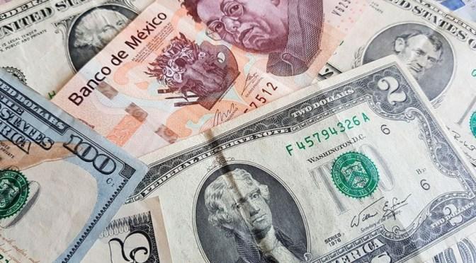 Moneda nacional retrocede por regreso de percepción de riesgo