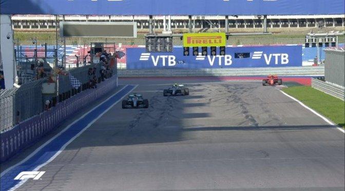 Lewis Hamilton se quedó con la victoria en el Gran Premio de Rusia
