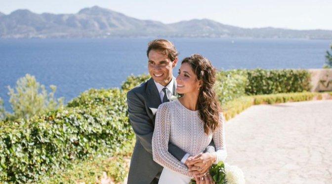 Las fotos de la boda de Rafael Nadal y Mery Perelló robaron reflectores