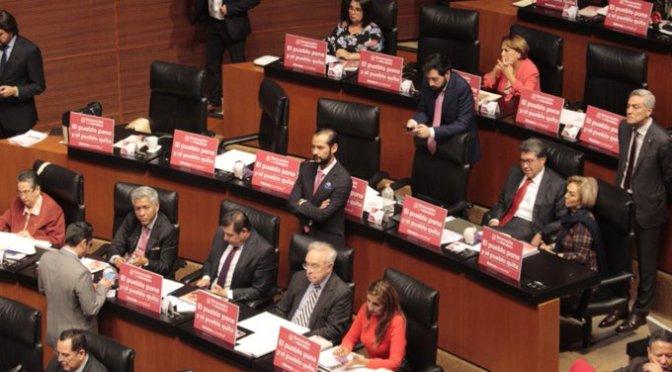 Senado aprobó en lo general dictamen sobre consulta popular y revocación de mandato