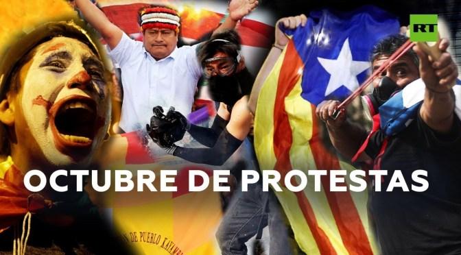 Estallan protestas en todo el mundo