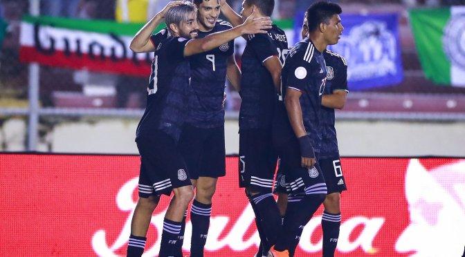 México venció a Panamá 3-0 en la Liga de Naciones de Concacaf