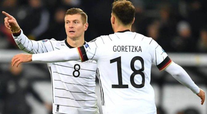Alemania ya está en la Eurocopa 2020