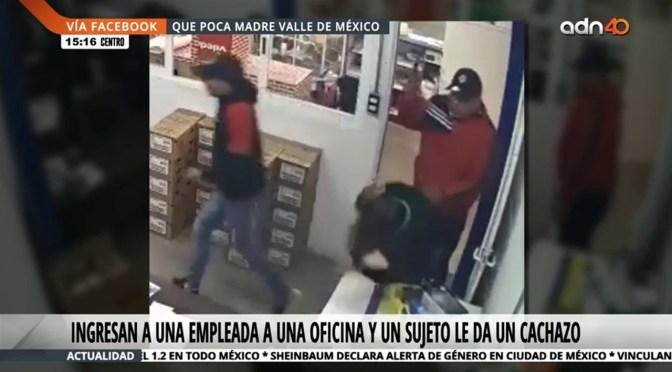 Aumentan robos con violencia en el Edomex
