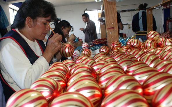 Feria de la Esfera en Tlalpujahua vigente hasta el 15 de diciembre