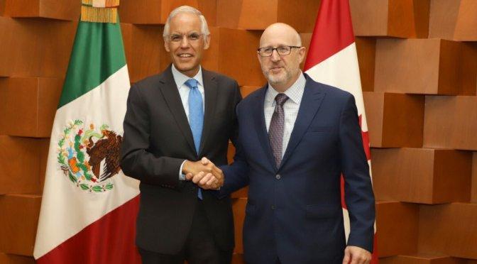 Se reunió Grupo de Trabajo sobre Comercio e Inversión México-Canadá