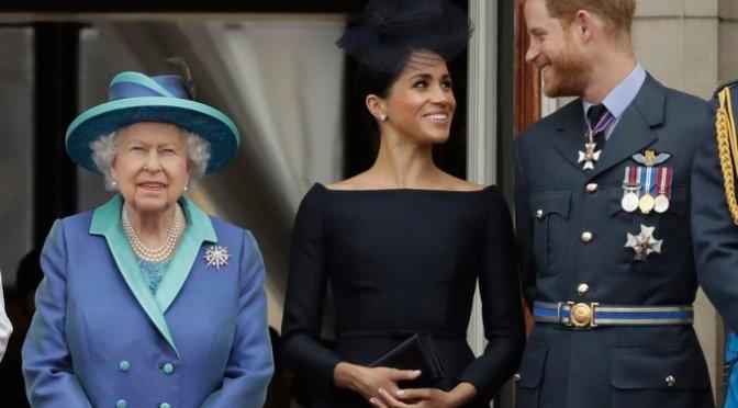 Los duques de Sussex, Harry y Meghan Markle, dejarán sus títulos nobiliarios