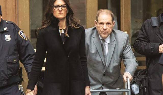 Jurado halla culpable a Harvey Weinstein de violación y agresión sexual