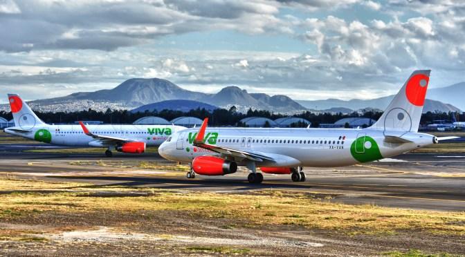 Ingresos de Viva Aerobus crecen 27.8 por ciento en 2019