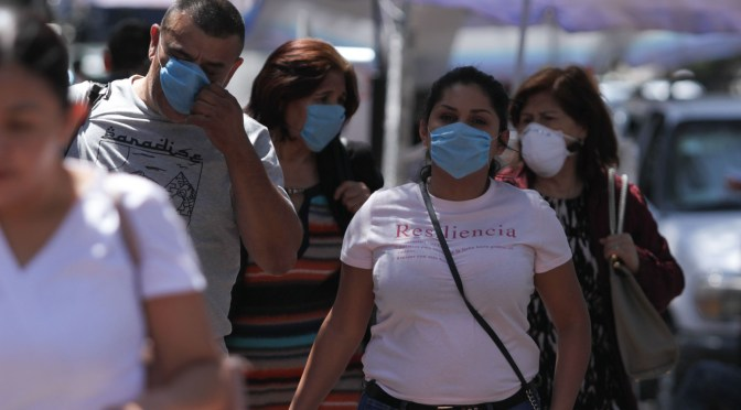Autoridades reportaron 164 casos confirmados de coronavirus en México