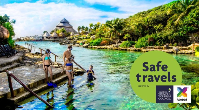 Xcaret recibe el sello de viaje seguro del WTTC