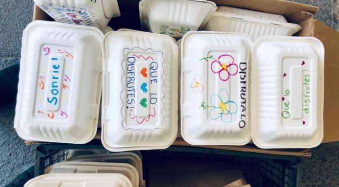 A la semana, 2,500 personas reciben comidas de Cocinamos Monterrey
