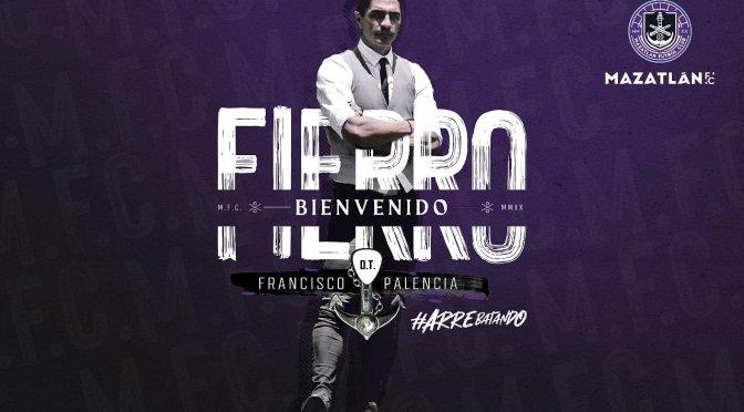 Francisco Palencia es el nuevo entrenador del Mazatlán FC