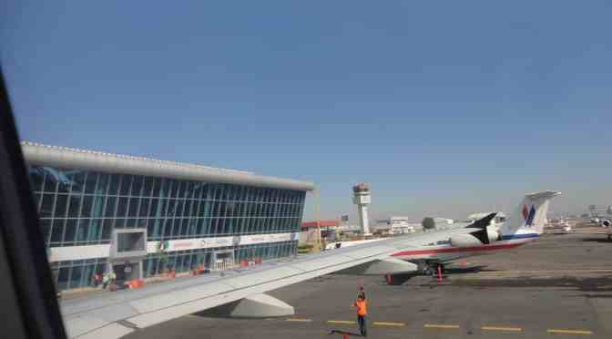 El Aeropuerto de Puebla refuerza medidas sanitarias al reactivar sus operaciones aéreas