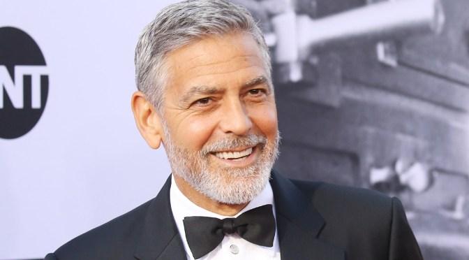 """George Clooney: """"El racismo es la pandemia de EU"""""""