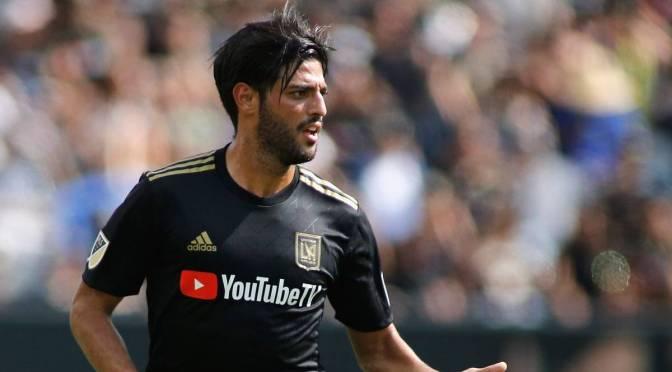 Vela no viajará con Los Angeles FC para torneo de la MLS en Orlando