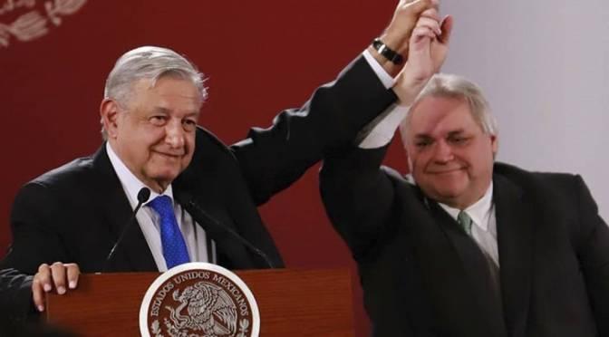 Celebra López Obrador apoyo de empresarios