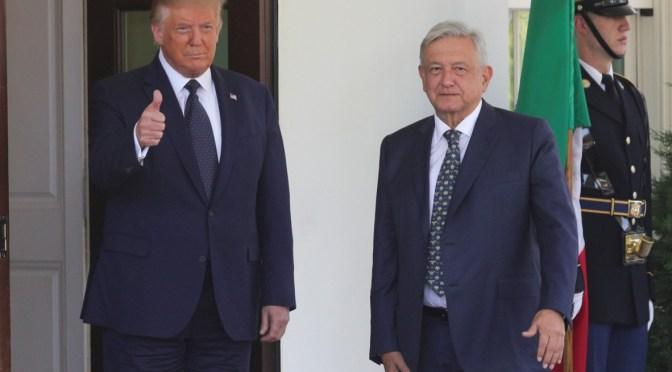 EU y México trabajan juntos en lucha contra COVID-19, estamos salvando vidas: Donald Trump