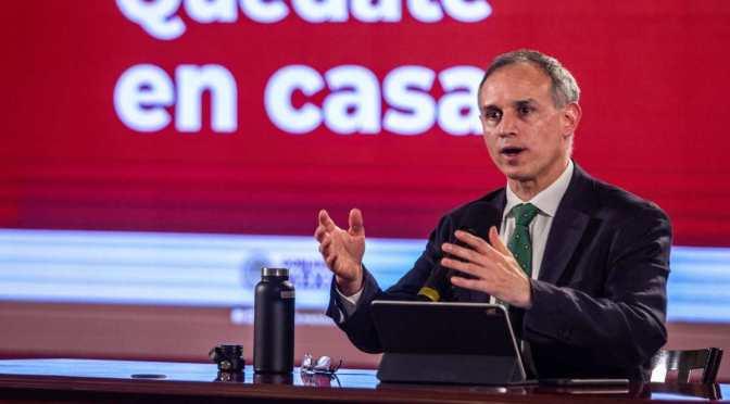 Faltan semanas para que semáforo COVID en CDMX llegue a amarillo: López-Gatell