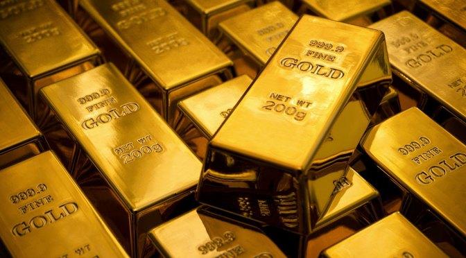 El oro supera la barrera de los 1,800 dólares por onza por primera vez desde 2011