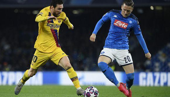 Barcelona se juega ante Napoli su futuro en la Champions y el de su entrenador Setién