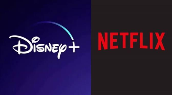 Disney amenaza con vencer en la guerra del streaming y Netflix no puede evitarlo