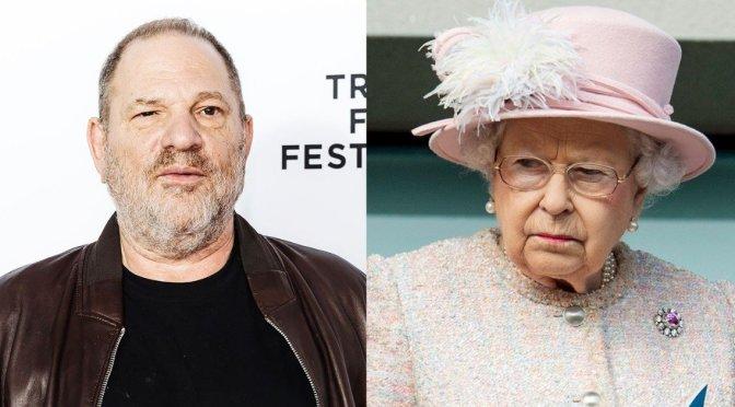 Reina Isabel despoja formalmente a Harvey Weinstein de reconocimiento británico