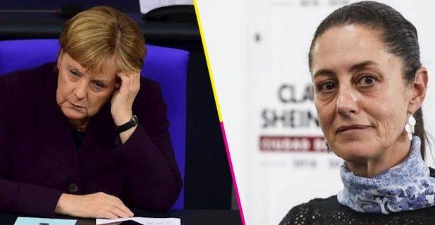 Frente al Covid: Merkel y Sheinbaum, lo más notable