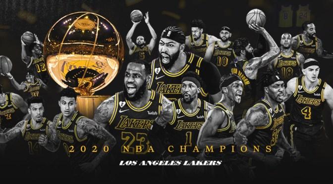 Los Ángeles Lakers son los campeones de la NBA; lo logran después de 10 años