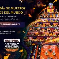 Gayosso presenta el Festival Ofrenda y Memoria