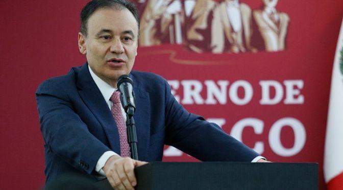 Alfonso Durazo renuncia a la SSPC para competir en elecciones de 2021