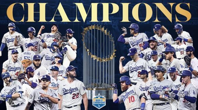 Los Dodgers, de la mano de los mexicanos Urías y González, ganan la Serie Mundial (Video)