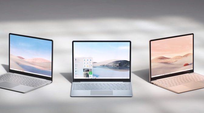 Microsoft sorprende con Surface Laptop Go su nueva laptop de bajo costo