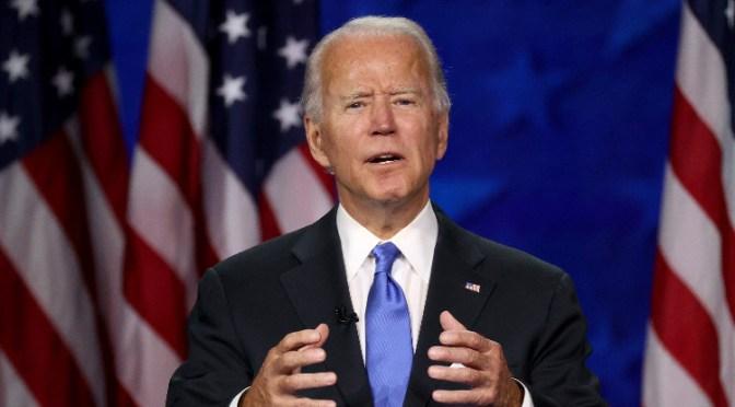 El mercado parece estar descontando una victoria del candidato demócrata Joe Biden