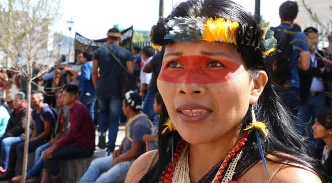 Una líder indígena ecuatoriana entre las 100 personas más influyentes de 2020