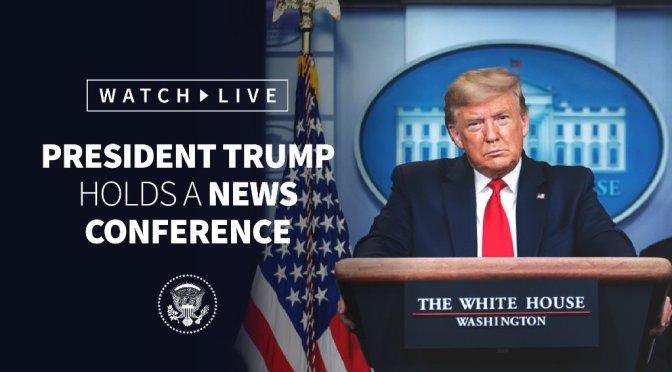 Trump embiste más fuerte contra elección… y TV lo silencia por mentir