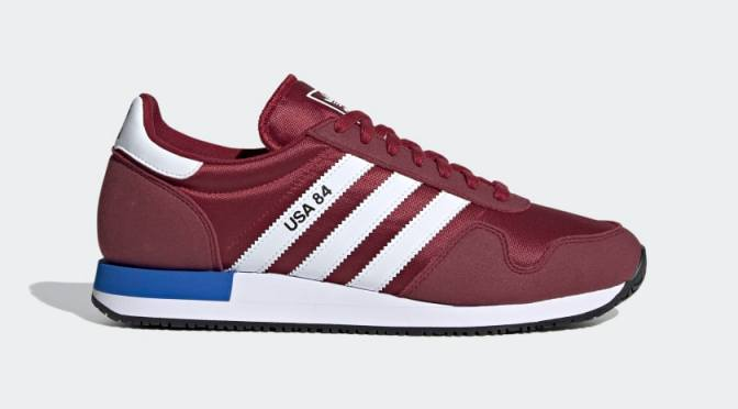 Adidas hace homenaje a los 80 con sus tenis USA 84