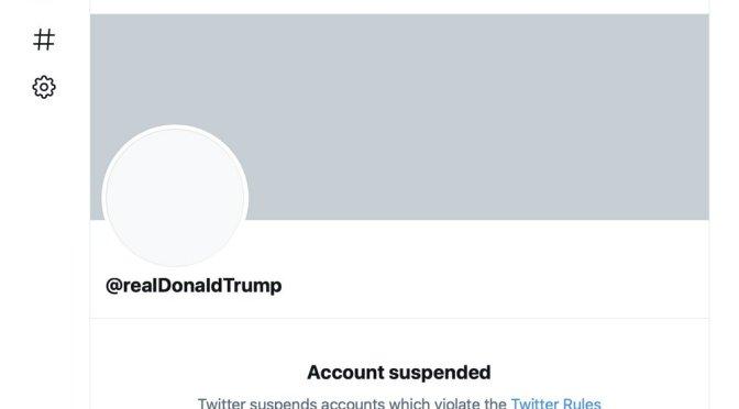 Expulsión de Trump de Twitter sólo intenta quedar bien con gobierno de Biden: Catedrática
