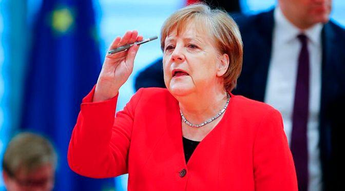 Merkel responsabiliza a Trump de crear una atmósfera propicia a eventos violentos