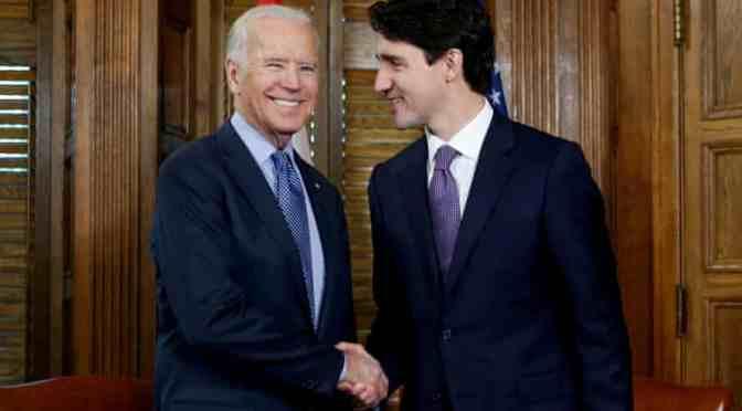 Biden y Trudeau se reunirá el próximo mes para abordar temas de vacunas y suministros médicos