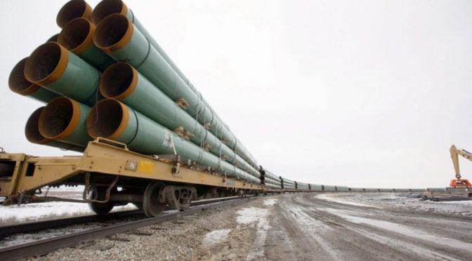 Incluso sin Keystone XL, EU establece récord de importaciones de petróleo canadiense