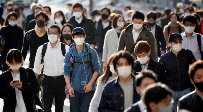 Japón notifica a la OMS de una nueva variante de COVID-19 encontrada en en país