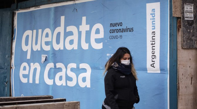Argentina supera los dos millones de casos confirmados de coronavirus