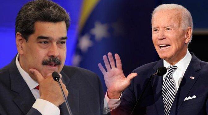 Biden no prevé tener contacto con Maduro pronto