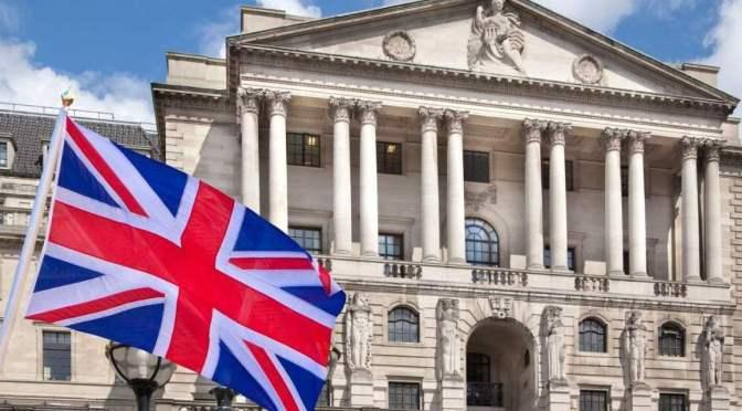 Banco de Inglaterra dice que los bancos necesitan 6 meses para cualquier tasa bajo cero