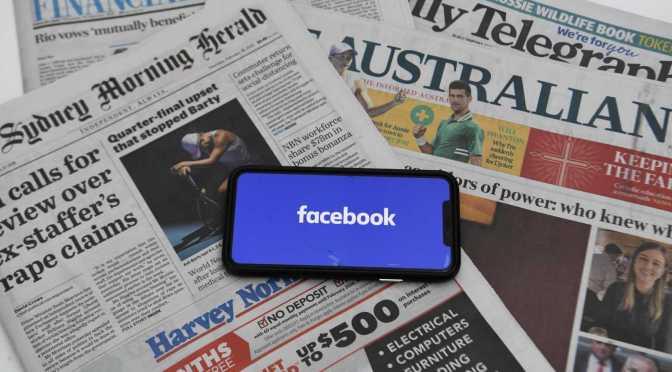 Sin inmutarse por el apagón de noticias de Facebook, Australia se compromete con la ley de contenido