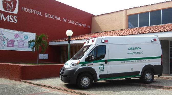 IMSS mejora servicio y costos en arrendamiento de ambulancias