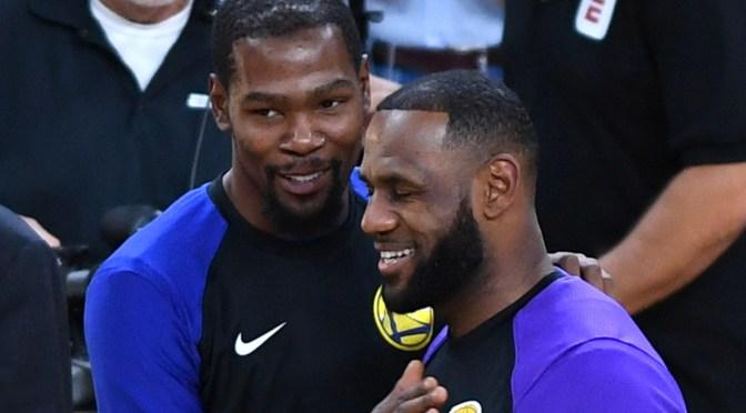 LeBron James y Kevin Durant serán los capitanes del All-Star de la NBA